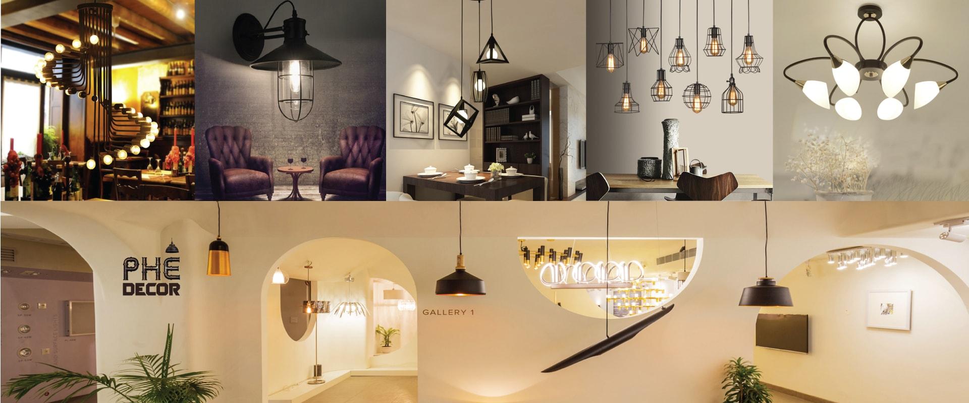 đèn trang trí quán cafe giá rẻ